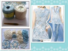 Beautiful Irish crochet lace motifs    图片