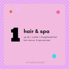 vitas hair studio dedicated to providing excellence in our service