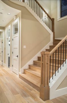 Floors and railing