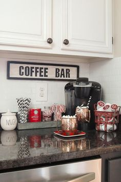 A GORGEOUS home tour full of classic Christmas decor. www.littlehouseoffour.com