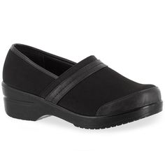 Easy Street Origin Women's Comfort Clogs, Size: 7.5 N, Black