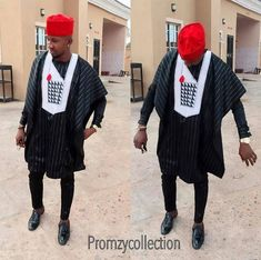 Are you in search of a new style to wear to that special occasion? You can make a selection from these extraordinary collection of agbada designs to dominate at your next event. African Attire For Men, African Shirts, African Men Fashion, African Dresses For Women, African Wear, African Outfits, African Clothes, Nigerian Traditional Attire, Ankara Styles For Men
