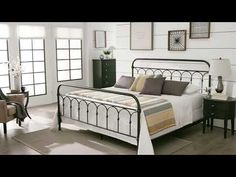Mercer Casted Knot Metal Bed by iNSPIRE Q Classic - Free Shipping Today - Overstock.com - 19680044