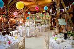 How To Plan a Vintage Carnival Wedding