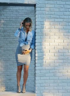 Fashionable maternity fashions outfits ideas 58 #maternityoutfits