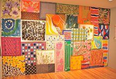 An entire wall of Vera Neumann. AMAZING