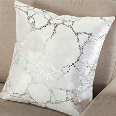 White and Silver Cheap Couch Pillows Cushion Covers Cheap Pillows, Toss Pillows, Couch Pillows, Cushions, Cheap Couch, Couch Covers, Cushion Covers, Throw Pillow Covers, Boyfriend Pillow