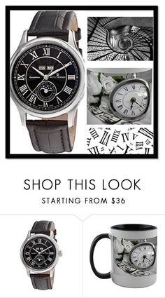 """""""Roman numbers"""" by solan79 on Polyvore featuring men's fashion, menswear, clock, roman, man e numbers"""