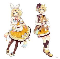 Rin and Len Hatsune Miku, Kaito, Pretty Anime Girl, Anime Art Girl, Anime Love, Manga Art, Len Y Rin, Kagamine Rin And Len, Tracing Art