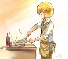Armin Arlert. So cute and awesome and powerful in the same time