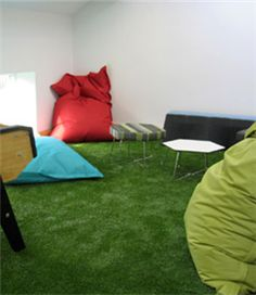 Artificial grass for homes is used widely, which is more suitable for home decorations. A lot of indoor leisure places began to undertake beautification adornment with our cheapest artificial grass. Comparing with natural grass, artificial grass is more suitable for leisure places for design and maintenance cost is low.