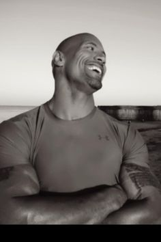 Dwayne Johnson aka The Rock. ***swoon and sigh*** So, he is my next boyfriend if Kenny ever leaves me. So hot! The Rock Dwayne Johnson, Rock Johnson, Dwayne The Rock, Love Your Smile, Lovely Smile, Star Wars, Raining Men, Look At You, Goddesses