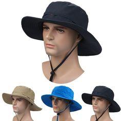 df5f80ecc89 2016 New Outdoor Bucket Hat Brim Quick-drying Breathable Sun Hats Riding  Hiking Fishing Climbing