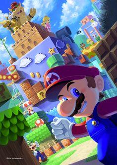 Super Mario Bros, Mundo Super Mario, Super Mario World, Super Mario Brothers, Super Smash Bros, Mario Kart, Mario Fan Art, Image Zelda, Pokemon