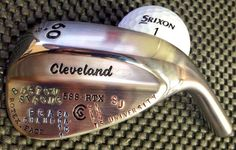"August 26, 2013: ""Testing some new stamping for @Keegan_Bradley. Which do you like best?,"" asked Cleveland Golf."