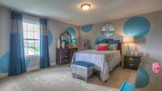 Goodall Homes @ Fairvue Plantation in Gallatin, TN. Interior Design by ShopGirl. Girls bedroom