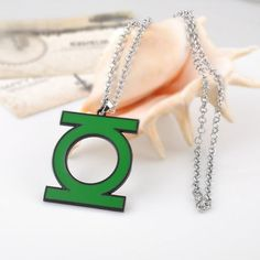 Green Lantern Necklace by TheAwesomeStuff on Etsy
