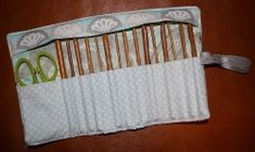 MONDAY SALE!! Crochet Hook Roll Embroidery Machine Design for the 7x12 hoop