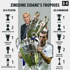 #madbien @zidane Player/Coach Jugador/Entrenador First Football, Football Love, Football Memes, Real Madrid, Liverpool You'll Never Walk Alone, Club World Cup, We Are The Champions, Sports Celebrities, European Cup