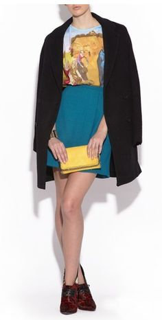 Agressia Fashion   BRAND NEW CARVEN RUNWAY FW2012 TURQUOISE SKIRT US 6   Online Store Powered by Storenvy  Posted to the Stufflicious.com community storefront by agressia. Buy it directly from agressia.storenvy.com for $249.99 today. #Skirts #Bottoms #Womens #Apparel #Fashion #Style #Cute #Style