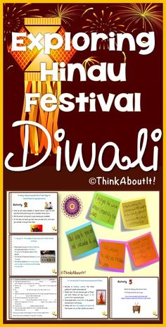 'Hindu Festivals: Diwali' is the third lesson of the unit 'Exploring Hinduism'. The resource contains a PowerPoint to give structure to lessons, a flip chart with engaging activities for students and worksheets. All activities proved to be very successful in helping pupils consolidate their knowledge and understanding of Diwali. #Diwali #Hinduism #festivals #TesResources #KS3