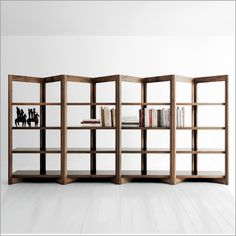 verdesign butterfly bookcase, walnut by enzo berti
