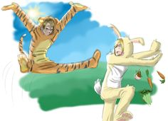And now my childhood is never the same! America is Tigger, no doubt about that X3 USUK Winnie the Pooh~