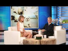 Taylor talking about Olivia on Ellen!