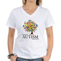 Autism Tree Shirt on CafePress.com