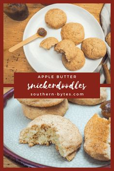 Apple Butter Snickerdoodles remind me of an apple cider donut. They are fluffy and light on the inside with a slight crunch on the outside. Perfectly coated in cinnamon sugar, these cookies are everything we love about Fall.