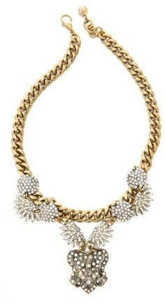Lulu Frost Burst Statement Necklace on shopstyle.com