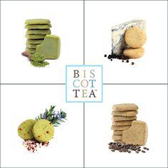 Nu finner du Biscottea i vårt sortiment. Namnet kommer från en ordlek som utgår från två kak-klassiker, den italienska biscottin, som gärna serveras till en espresso, samt det klassiska skotska shortbreadet som är ett måste vid varje afternoon tea som är värt sitt namn. På bilden ser du matcha-kaka och en kaka med blåmögelost och svartpeppar. Gör Afternoon teakalaset lite roligare. #Biscottea #shortbread #afternoontea #matcha #nyhet #foodie #kakor #fika #Beriksson
