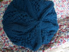 Willow Beret from WEBS, in Valley Yarn Amherst Balsam.