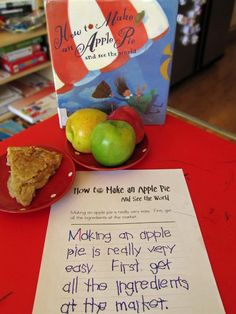 Five in a Row: Our week with How To Make An Apple Pie....