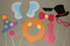 Back to school picnic photo 'op' - Kiddos: photo inspiration / circus photo booth props