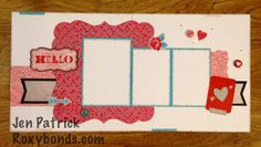 Roxybonds CTMH  Stampers With an Attitude Blog Hop- Holidays Valentine, Heartstrings, Workshop