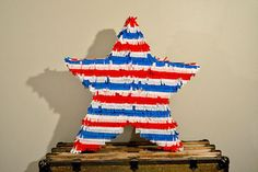 DIY Pinata for a Fourth of July Party