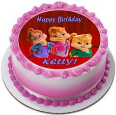 ALVIN AND THE CHIPMUNKS ROAD CHIP 5 Edible Cake Topper – Edible Prints On Cake (EPoC)