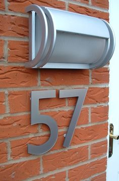 Large house Numbers for the Home in Perspex .. Any Size, Many Colours!