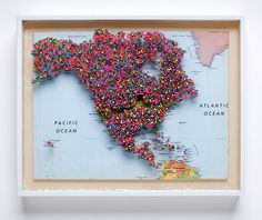 reverse pin map! i love this idea!