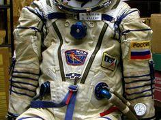 Russian Sokol spacesuit.