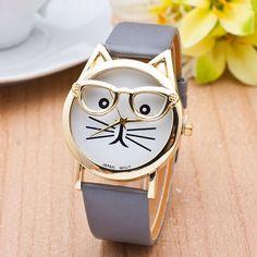 Como não acha fofo esse relógio