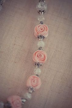 Ric-Rac Rose Beads- love.