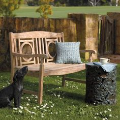 Teak Weathered Bench:  Our Teak Weathered Outdoor Bench boasts a gracefully aged style that would take Mother Nature years to accomplish. This outdoor bench presents an elegant look ideal for adding character to any garden, patio, or sunroom.