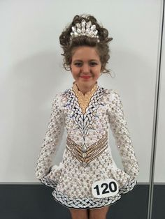Charming Purple ID Costume Design Irish Dance Dress Solo Costume For Sale