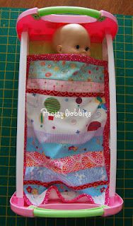 Tutorial - Dolly's quilt