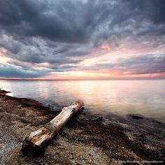 Lake sunset by nickolay_khoroshkov, via Flickr