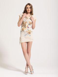 Signet dress, beige. Beige, Dresses, Fashion, Vestidos, Moda, Fashion Styles, Dress, Fashion Illustrations, Gown