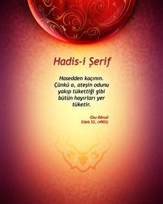 Gönül Tahtımızın Sultanı Peygamber Efendimizin Hayatı.: Hasedden Kaçının.