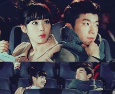 "Wooyoung and IU in ""Dream High""  so adorable... chemistry was there."